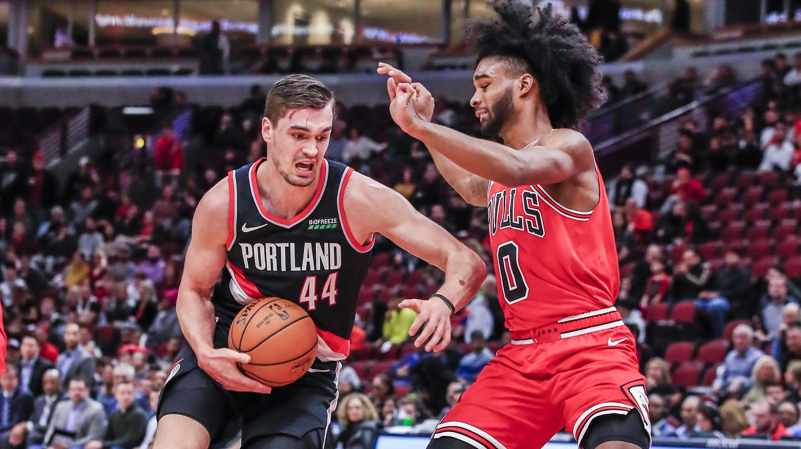 Portland Trail Blazers at Chicago Bulls